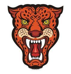Jaguar vector image