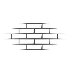 Vintage brick wall vector