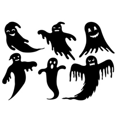 Of Different Ghosts vector image vector image