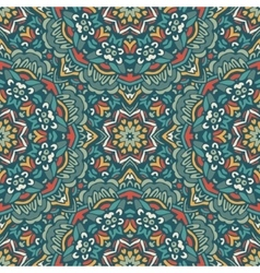 Abstract vintage ethnic seamless pattern design vector image vector image