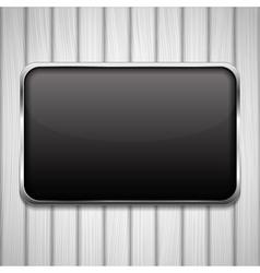 Black Frame vector image vector image