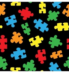 The pattern of the puzzle 02 vector image