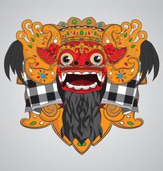 Barong-mask vector