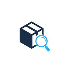 Browse box logo icon design vector