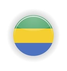 Gabon icon circle vector