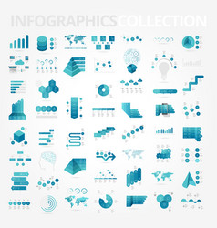 Infographics design elements collection vector