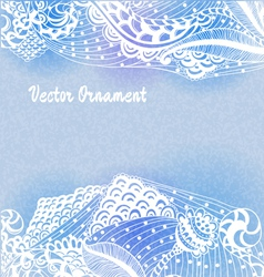 ornaments hand-drawn vector image