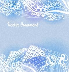 Ornaments hand-drawn vector