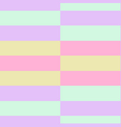 retro pastel colours horizontal stripes vector image