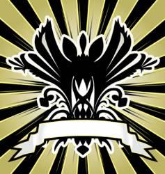 herald vector image vector image