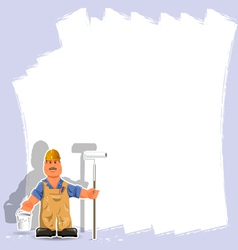 painter vector image vector image
