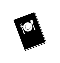 Restaurant menu book vector