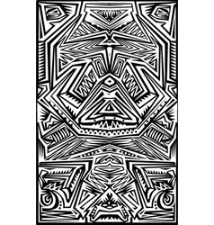 Stencil pattern vector image vector image