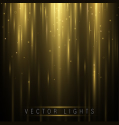 abstract glow light lines vector image