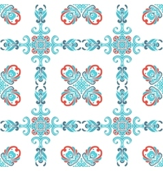 Abstract seamless ornamental tile pattern vector image