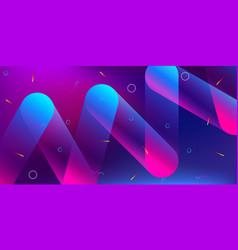 color background design fluid gradient shapes vector image