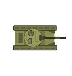 Flat tank vector