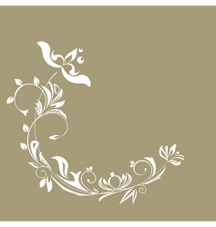 illustration of luxurious invitation card vector image