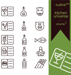 Kitchen universe volume 1 vector