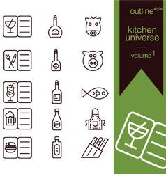 Kitchen universe volume 1 vector