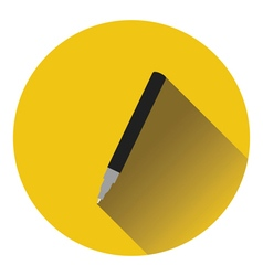 Liner pen icon vector image