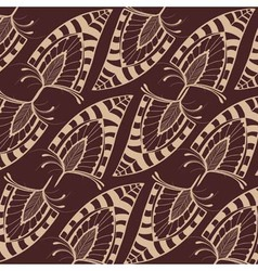 Pattern with feathers vector
