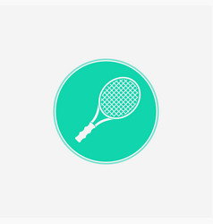 tennis icon sign symbol vector image
