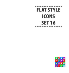 Weeding set icons in flat style big collection vector