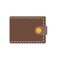 wallet safety money accessory image vector image vector image