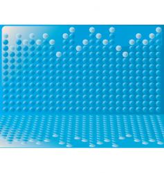 bubble graph vector image vector image