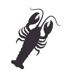 Lobster animal sea vector