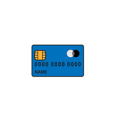 Credit card solid icon cash withdrawal vector