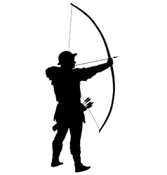 Archer Warriors Theme vector image