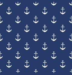 background with white anchors vector image
