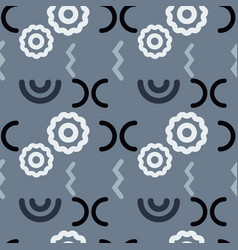 Broken link structure seamless pattern vector
