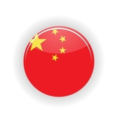 China icon circle vector image