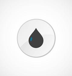 Drop icon 2 colored vector