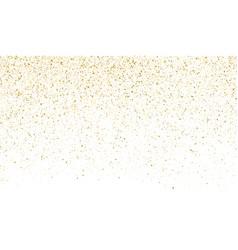 glitter gold background sparkle dust vector image