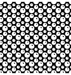 Hand Drawn Polka Dot Seamless Pattern vector