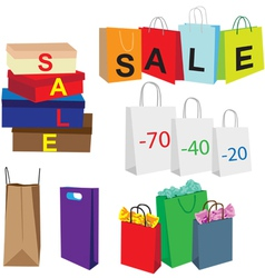 Packets symbolize purchase vector