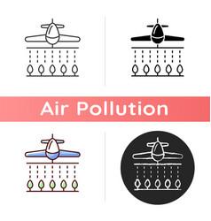 pesticides icon vector image