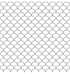simple seamless pattern fish scales vector image