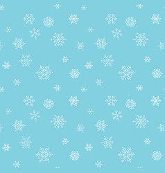 christmas seamless pattern with handdrawn vector image vector image