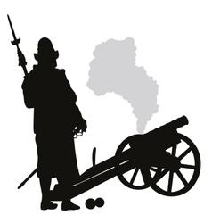 Conquistador Warriors Theme vector image vector image