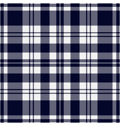 seamless blue black tartan with stripes vector image