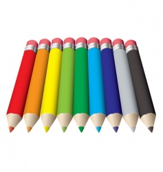 pencil collection vector image