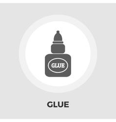 Glue flat icon vector image