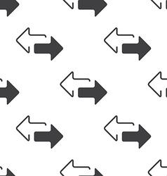 2 side arrow seamless pattern vector