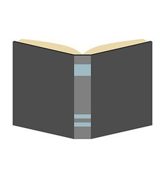 Book isolated flat style vector image