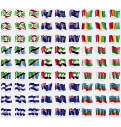 Burundi Pitcairn Islands Guinea Tanzania United vector image